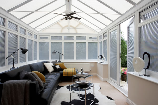 derby made to measure conservatory blinds