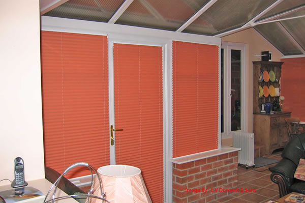 pleated blinds company