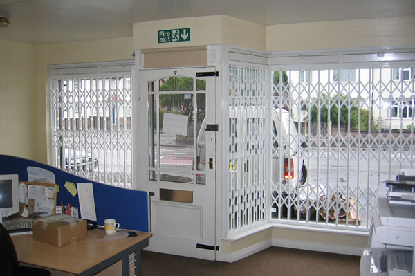 security grille company in derby